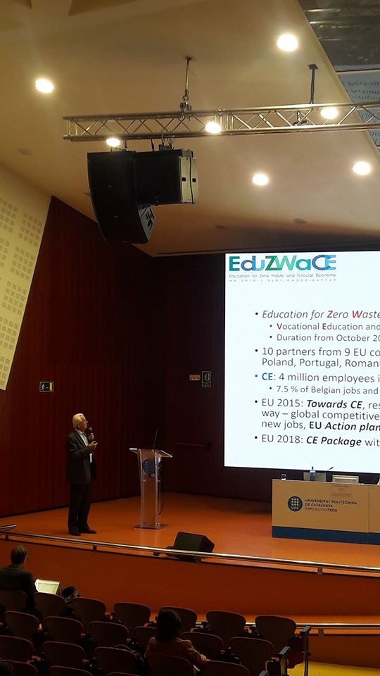 Eduzwace Presentation in Barcelona Conference