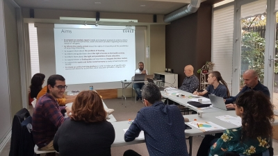 "3rd Transnational Project Meeting of ""Charter of Common Refugee Strategies"