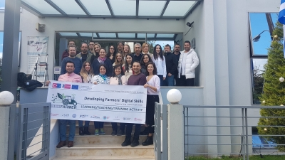 "1st LTA ""Developing Farmers' Digital Skills"" in the premises of AKETH in Trikala, Greece."