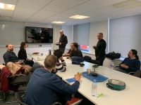 "3rd Transnational meeting of the ""Designing a 3d Virtual Environment for Teaching IoT"" project at Lancaster University, England"